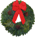 We will customize your Bozeman Christmas Wreath!