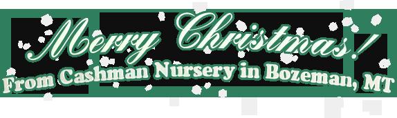 Merry Christmas! 2010 - Cashman Nursery - Bozeman, MT